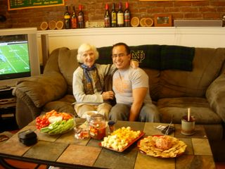 Thanksgiving 2007_Grandma and Neal